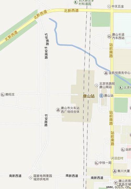 交警详解唐山站西广场车辆如何通行附实拍图图片